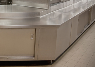 Stainless Steel Cabinets - Greenville, SC Custom Stainless Fabrication