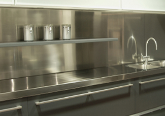 Stainless Steel Countertops - Greenville, SC Custom Stainless Fabrication